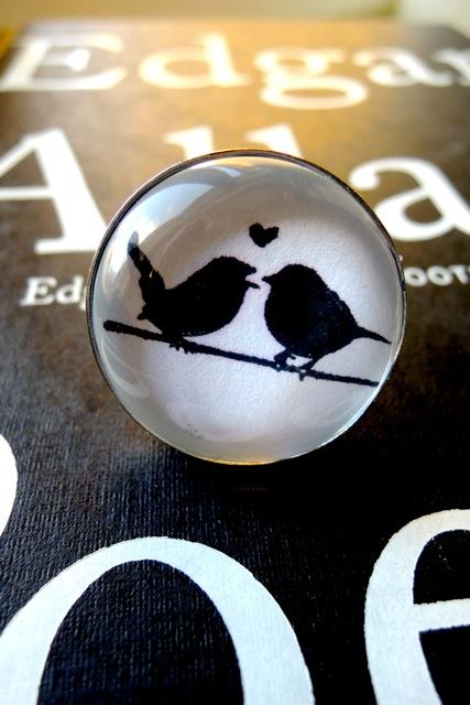 love birds ring