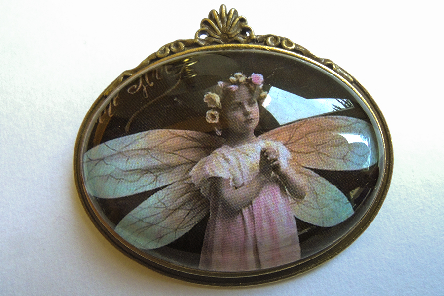 Flower Fairy Brooch