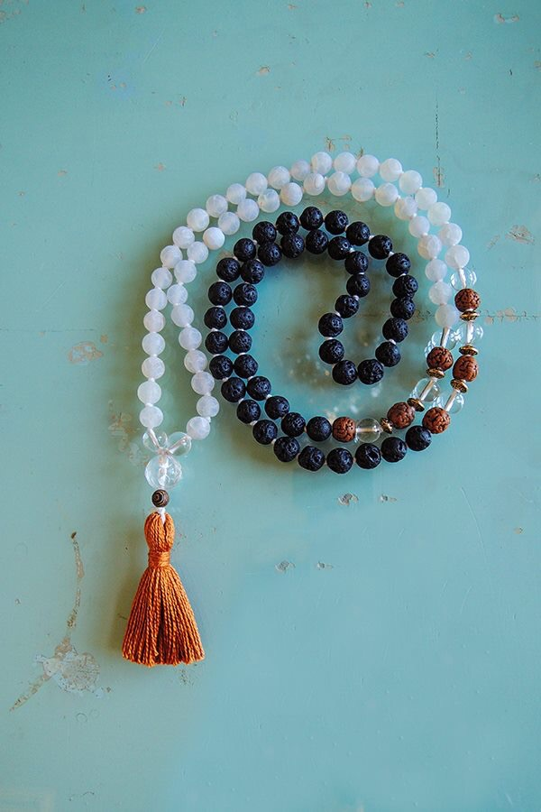 Agate and Lava beads