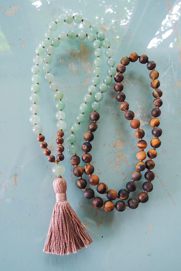 aventurine and tiger eye
