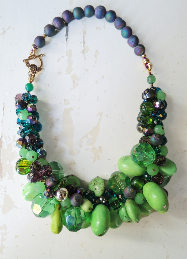 Green Baubles Necklace