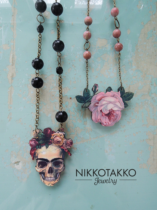 Frida and Rose necklaces