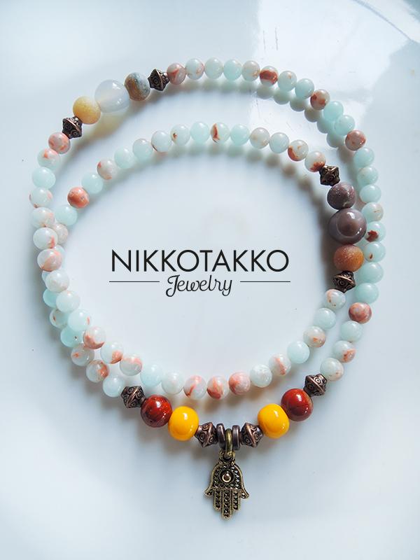 Hamsa Necklace/Bracelet