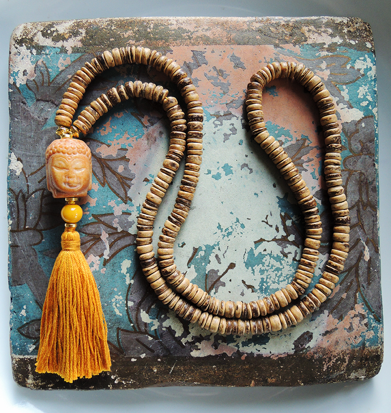Sun Salutation - Surya Namaskar necklace